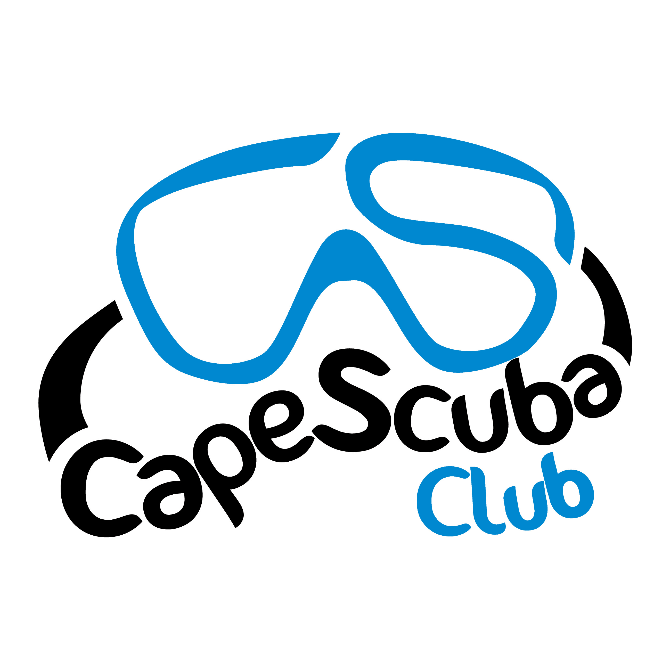 Scuba Dive Logos http://www.capescuba.co.za/cape-scuba-club-is-launched/